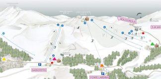 Cartina impianti e piste Sarnano Sassotetto