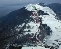 Monte Piselli - Cartine impianti - piste