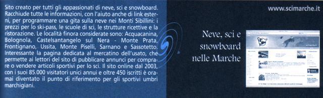 immagine e descrizione dedicata al portale scimarche.it