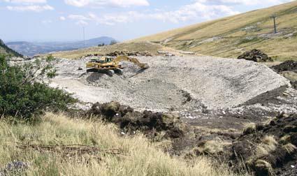 lavori bacino innevamento artificiale sarnano sassotetto maddalena