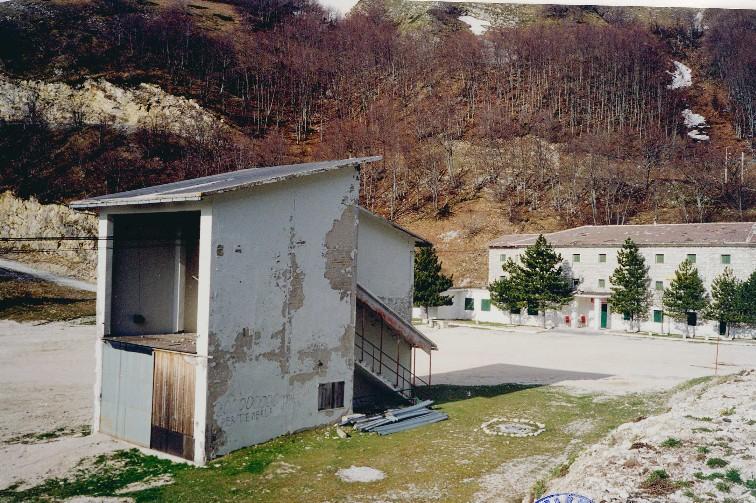 Sarnano, funivia Piobbico Fontelardina (stazione di arrivo)