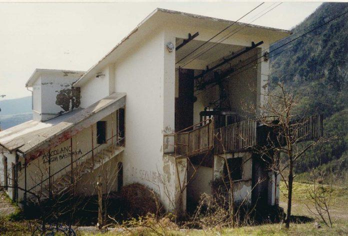 Sarnano, funivia Piobbico Fontelardina (stazione di partenza)