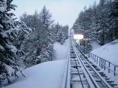 St Moritz e la Corviglia Bahn