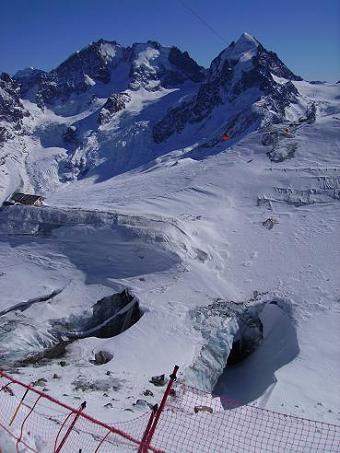 Saint Moritz foto dal Corvatsch quota 3300 metri