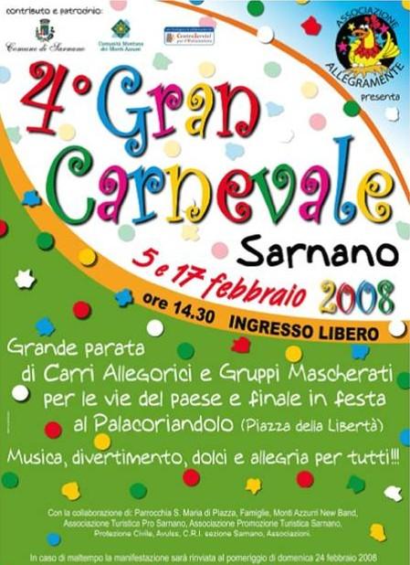Sarnano Carnevale 2008