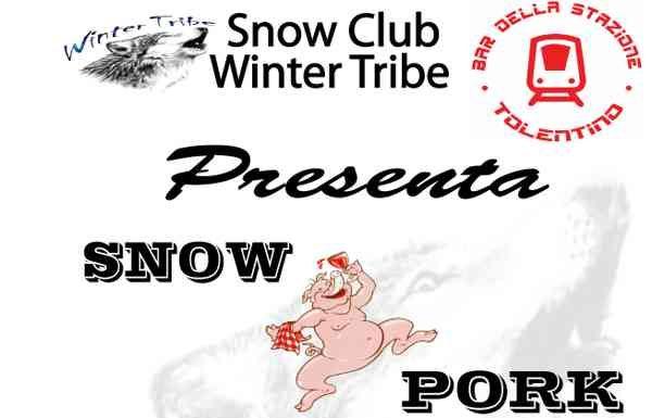 A Frontignano arriva lo SnowPork il 23 e il 24 Febbraio 2008