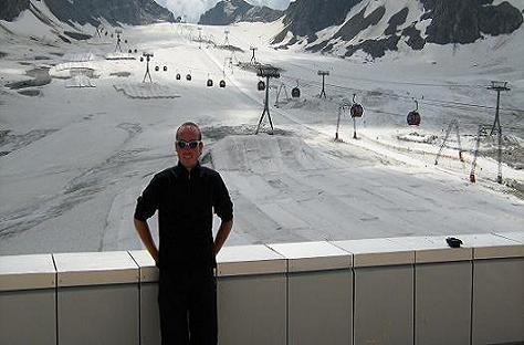 Fleiss sul ghiacciaio Stubaier Gletscher