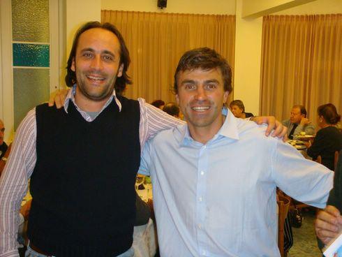 Kristian Ghedina con il nostro moderatore Danisci