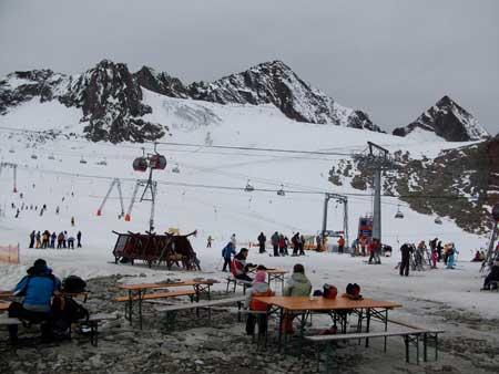 piste da sci allo Stubaigletescher