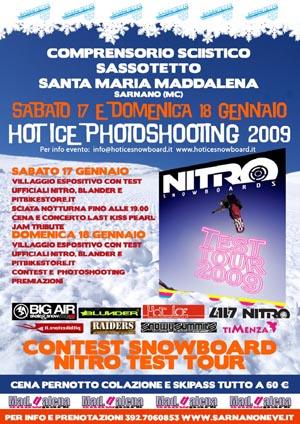 flyer hot ice photoshooting 2009