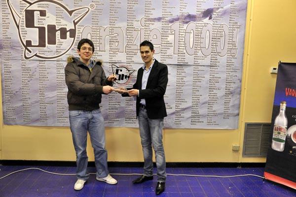 premiazione 1000 iscritto