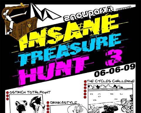Insane Treasure Hunt III sabato 6 giugno Arco Lago di Garda