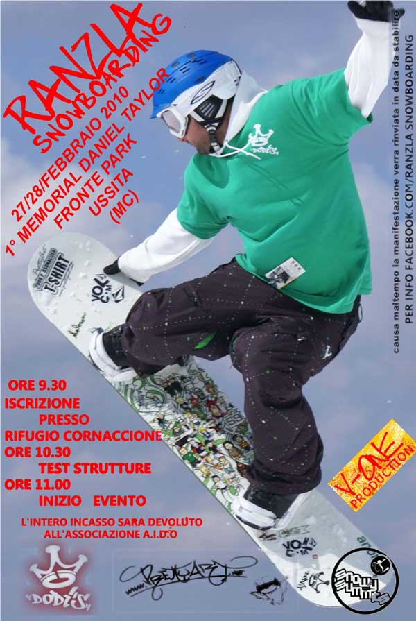flyer ranzla snowboarding 27 28 febbraio 2010
