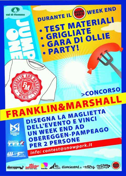 flyer franklin marshall jump one 2010 concorso