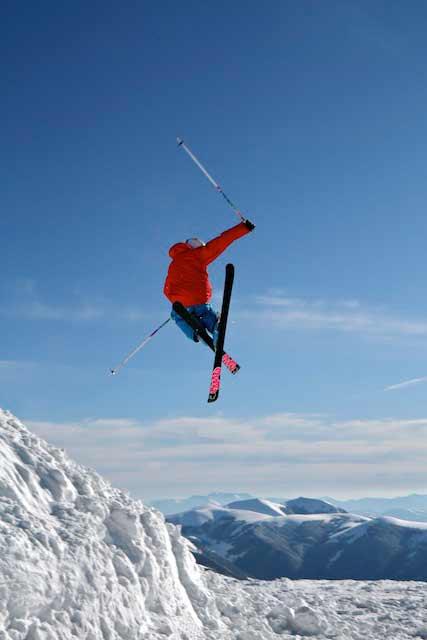 foto sciatore