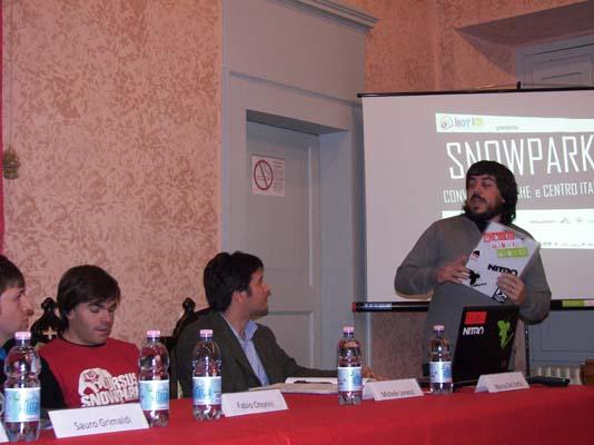 Cristiano Bordi presenta il convegno