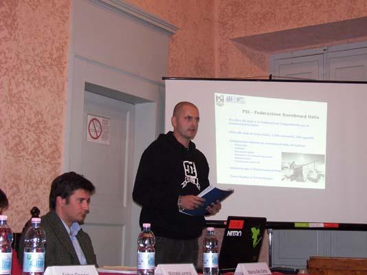 Marco Sanpaoli - Vice presidente WSF – World Snowboard Federation e Consigliere FSI – Federazione Snowboard Italia