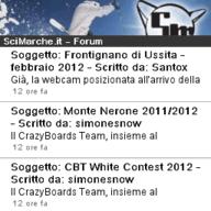 screenshot app scimarche per symbian