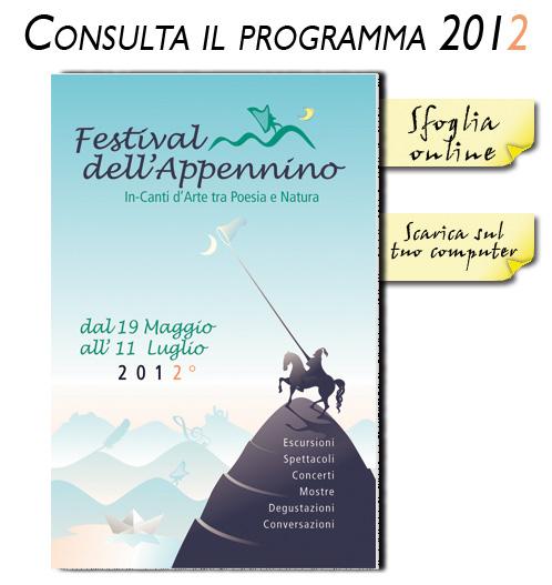 immagine programma festival dell'appennino 2012