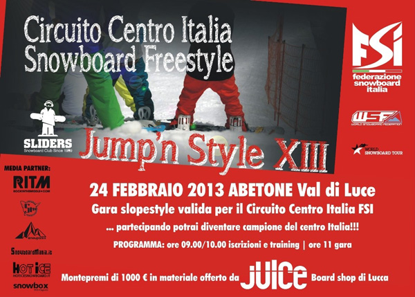 flyer-gara-slopestyle-jump-n-style-xiii-abetone-val-di-luce-28-02-2013