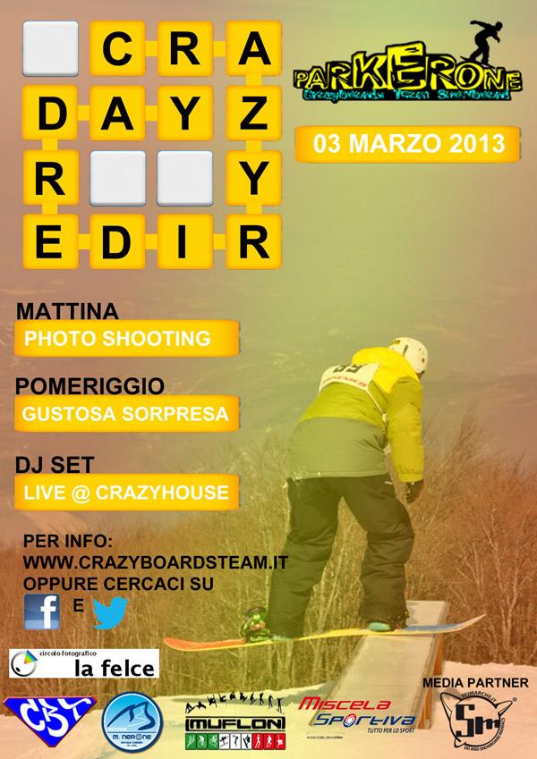 locandina crazy rider day monte nerone pu 2013
