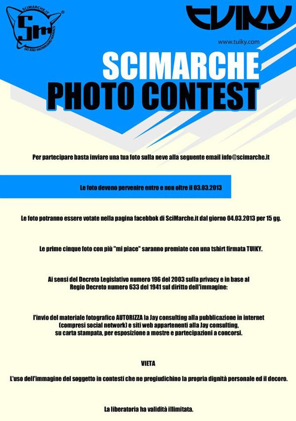 flyer scimarche photo contest 2013