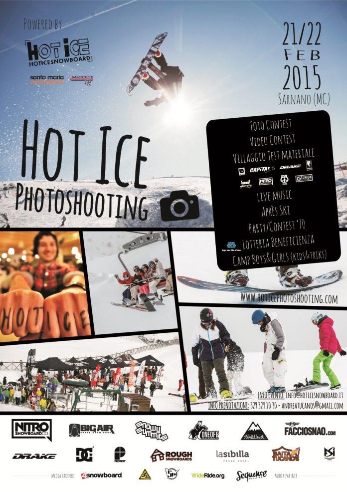 locandina hot ice photoshooting 2015