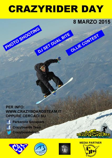 locandina crazy rider day 2015 monte nerone
