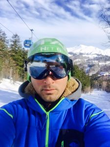 Francesco Cangiotti proprietario della società Funivie Bolognola ski srl