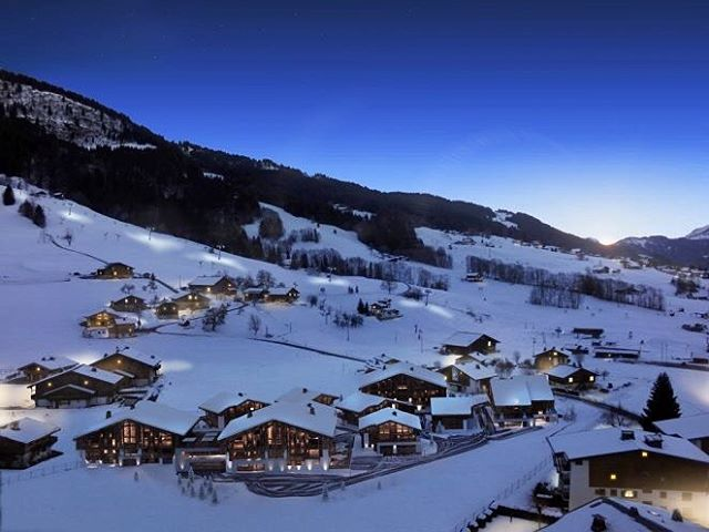 chalet montagna neve