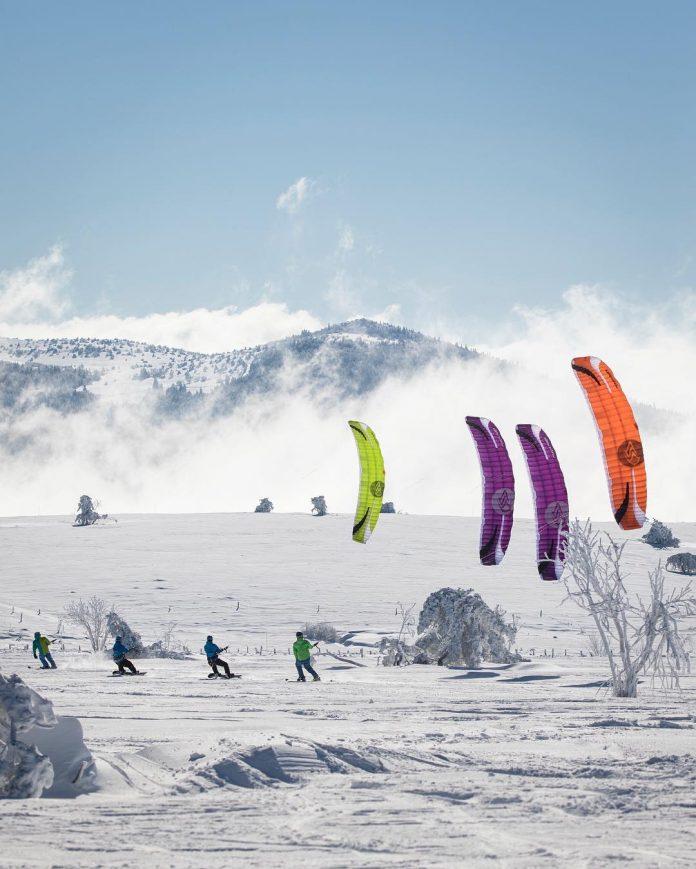 La guida completa sullo Snowkite, consigli e informazioni utili - Credits: flysurferkiteboarding