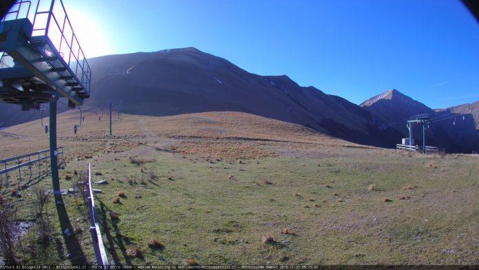 Nuova webcam Porta di Berro 1600 metri - Pintura di Bolognola