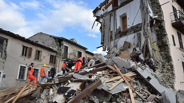 Terremoto Arquata del Tronto - Credits: Giuseppe Bellini/Getty Images