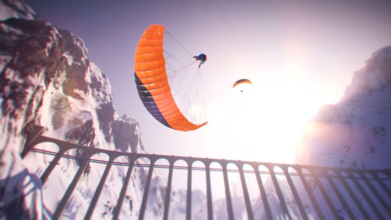 Steep Parapendio - Photo Credits Ubisoft