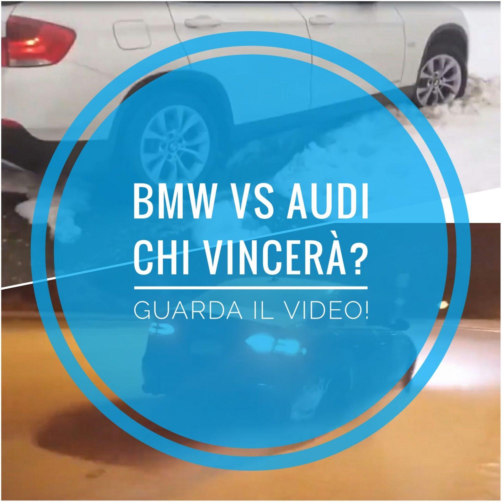 La prova su strada della Bmw xDrive e dell'Audi quattro