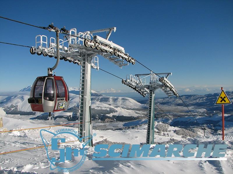 Cabinovia Aremogna - sciare a Roccaraso - Abruzzo