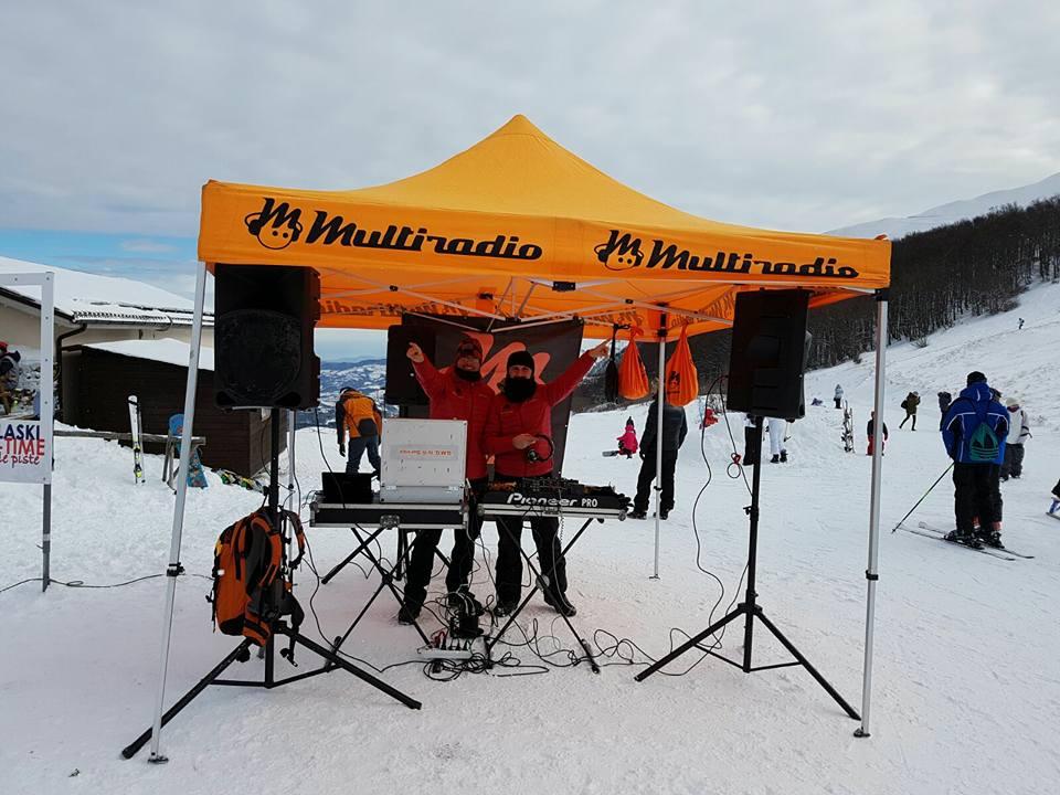 I dj di Multiradio animeranno il party dello Zchalet di Bolognola