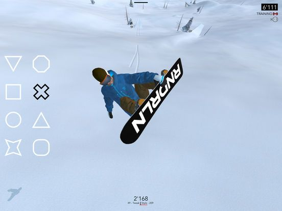 Il gioco Just Snowboarding disponibile su Apple Store
