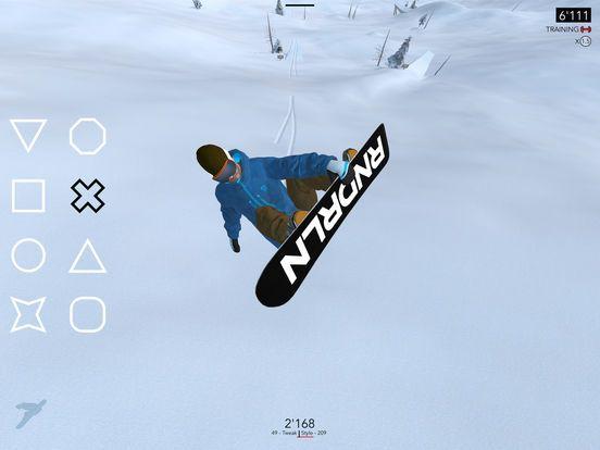 Il gioco Just Snowboarding disponibile su Apple Store