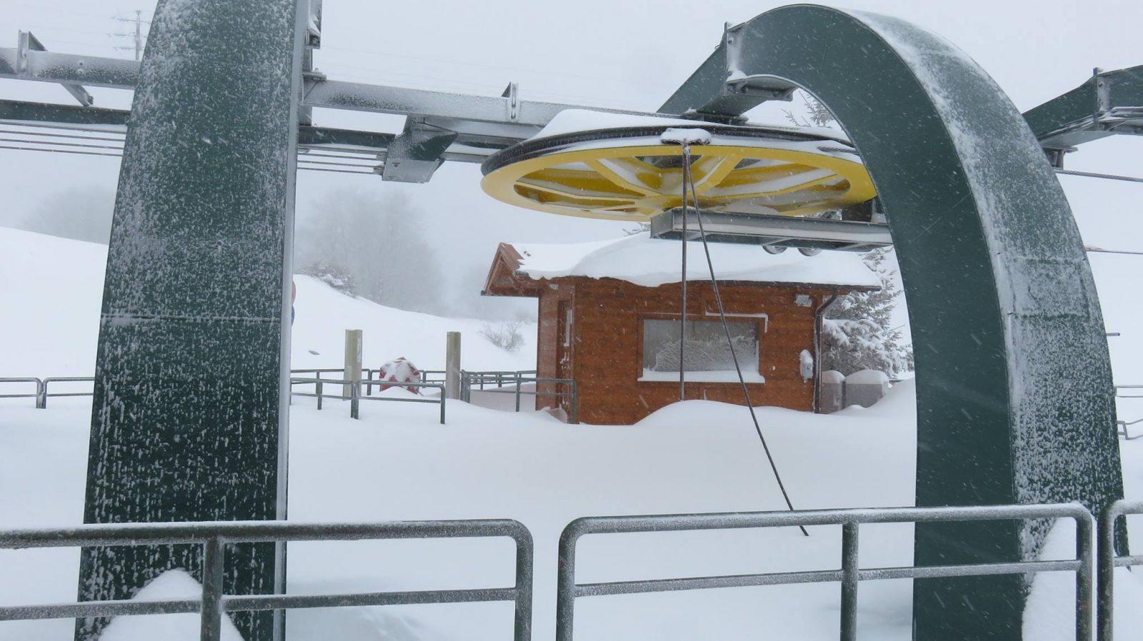 Situazione neve a Monte Piselli - credits impianti sciistico Monte Piselli