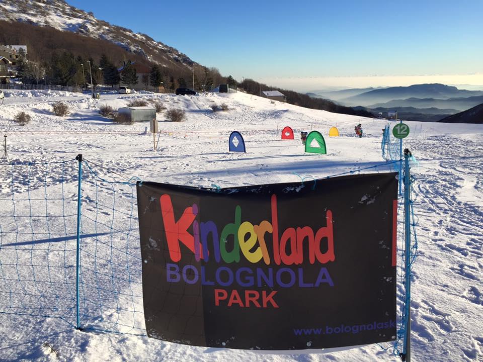 Il Kinderland di Bolognola ski dedicato a tutti i bambini