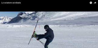Lo sciatore acrobata