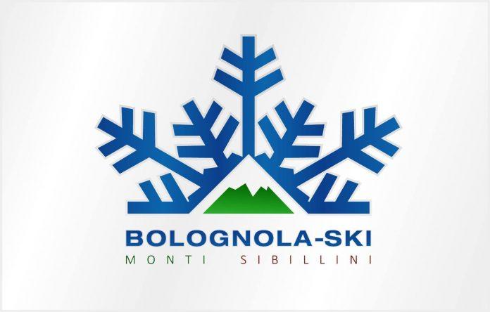 Il logo della società Bolognola ski che gestisce gli impianti di risalita