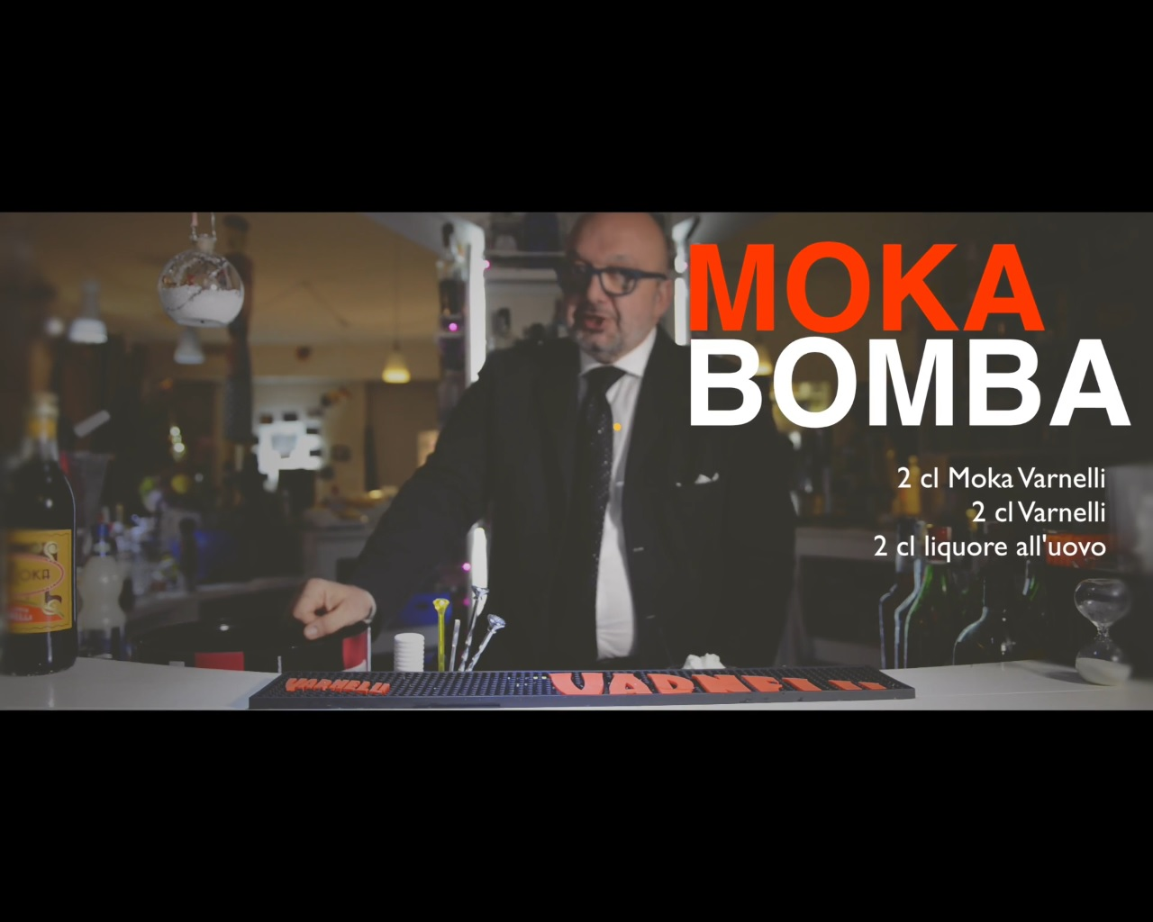 Moka bomba Varnelli il caldo cocktail ideale per l'inverno in montagna