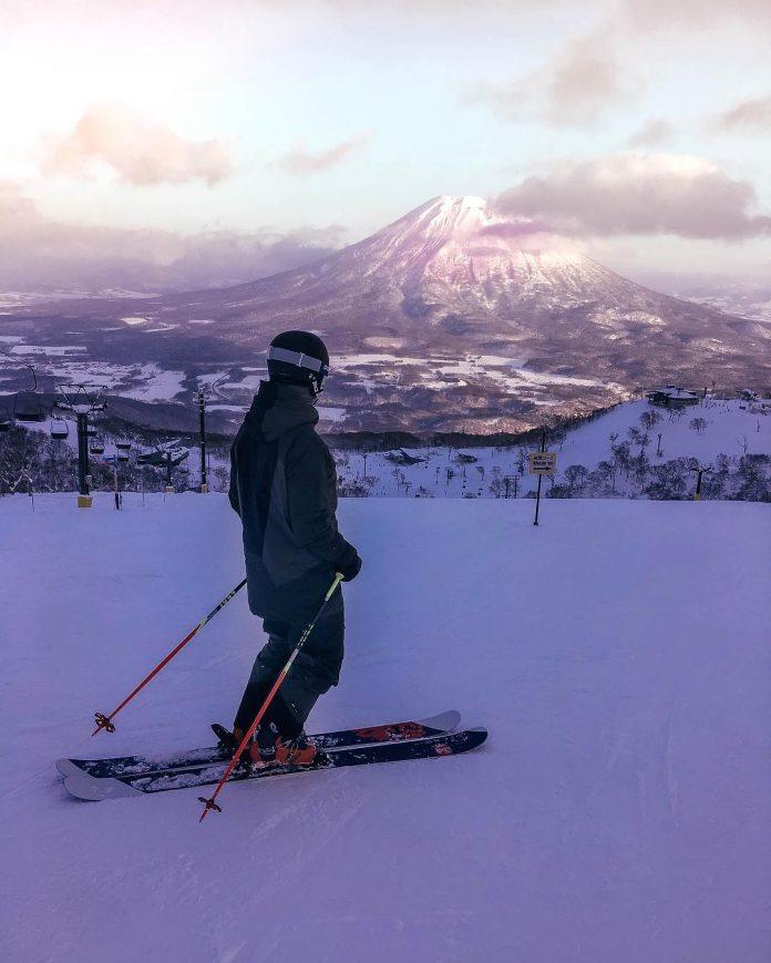 Sciare a Niseko in Giappone