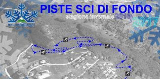 La cartina delle piste sci da fondo della località sciistica Pintura di Bolognola - Credits: Bolognolaski.it