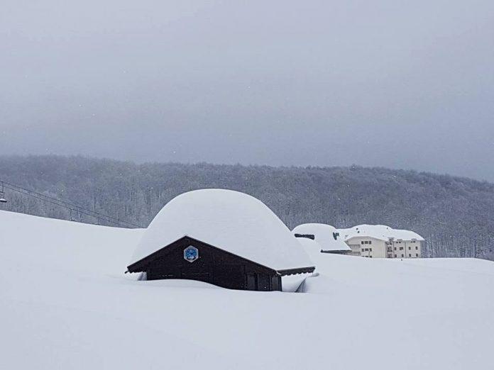 Prati di Tivo - emergenza neve - regione Abruzzo - credits Mirko De Luca