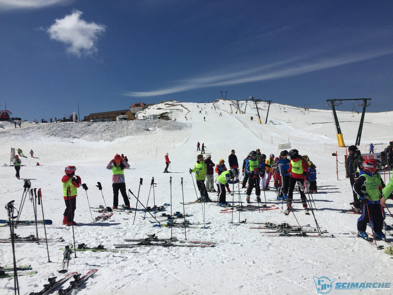Sciare a Campocatino - Lazio