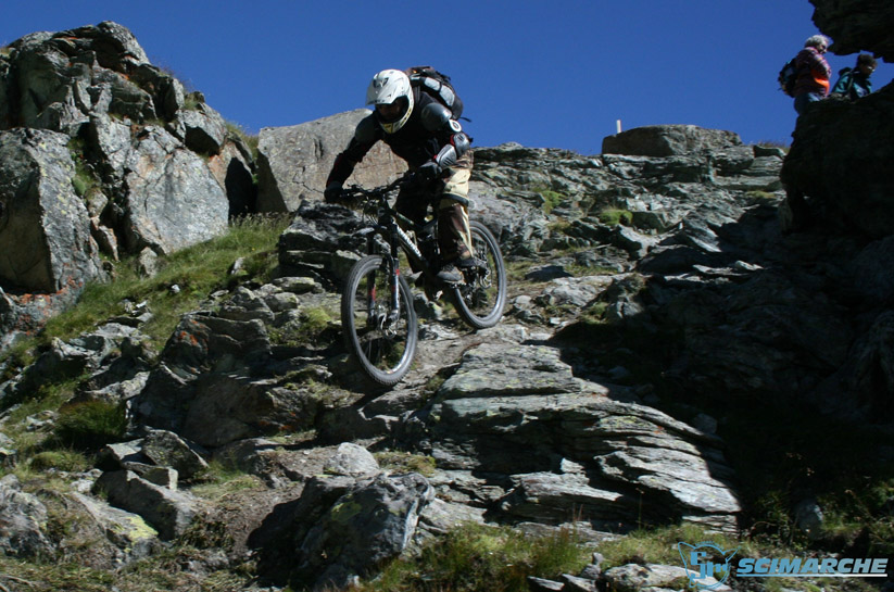 Mountain bike a Cervinia - Breuil - Valle D'Aosta