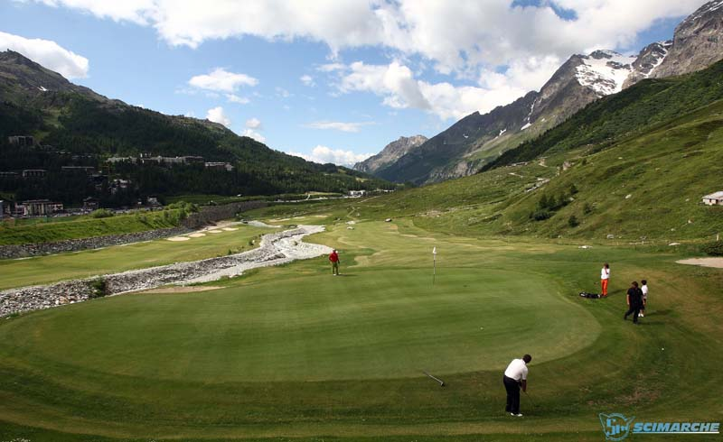 Cervinia golf club, il nuovo campo 18 buche